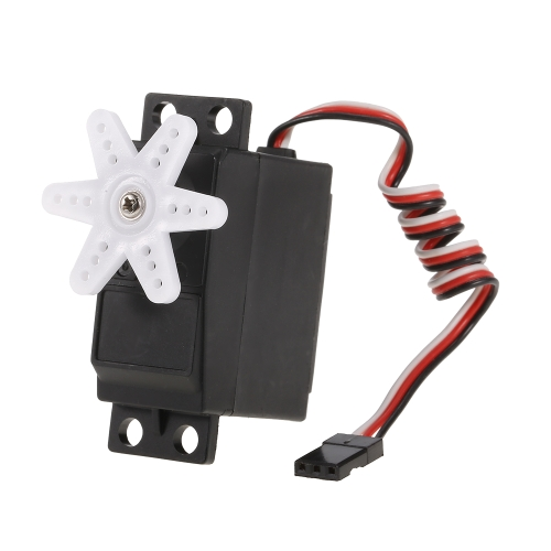ZD Racing 3.5KG Steering Servo 4.8V-6V 0.10sec / 60 ° Plastic Gear Waterproof Servo para 1/10 1/12 RC Car