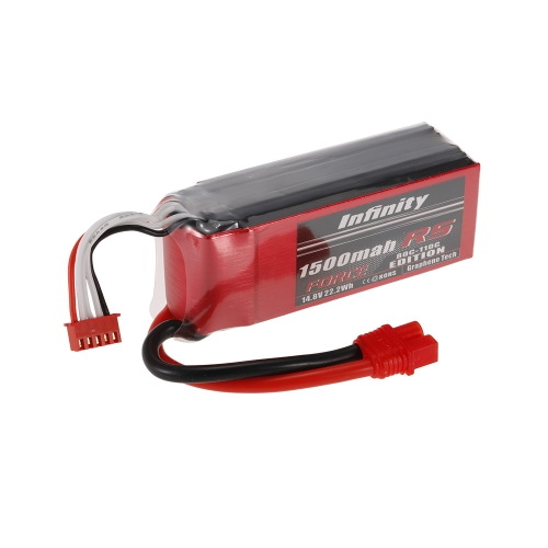 Infinity 4S 14,8V 1500 mAh 80C-110C LiPo Battery SY60 dla XT60 Plug 250 280 F330 Racing Drone Helicopter Car