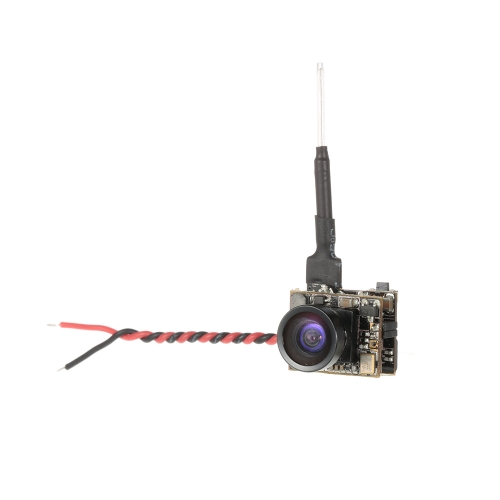 Rutforce T10 3-in-1 5.8G 40CH 25mW 1000TVL 120 ° Wide Angle FPV Mini Camera Support PAL / NTSC para RC Racing Drone