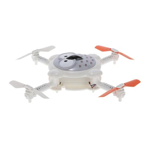 Cheerson CX-41 0.3MP Telecamera Wifi FPV Pieghevole Owl Drone Altitude Hold Sensore di flusso ottico Programmabile Selfie Quadcopter