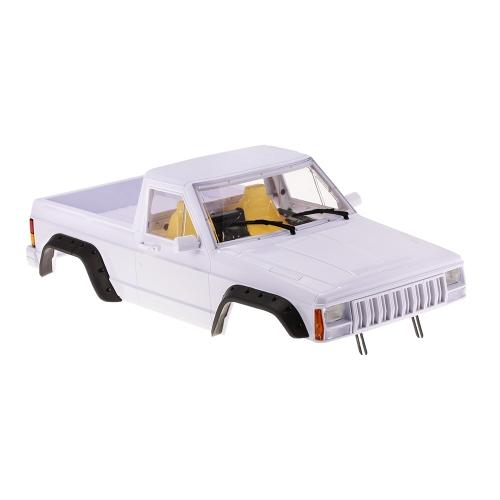 Austar 313mm Empattement Dur En Plastique Camion Pick-up Carrosserie Corps Kit pour Axial SCX10 RC4WD D90 1/10 RC Crawler