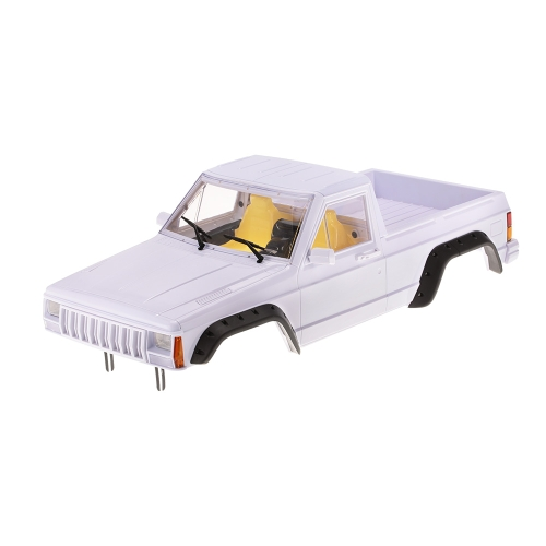 AUSTAR 313mmホイールベースハードプラスチックピックアップトラック車体シェルキットアキシャルSCX10 RC4WD D90 1/10 RCクローラー用