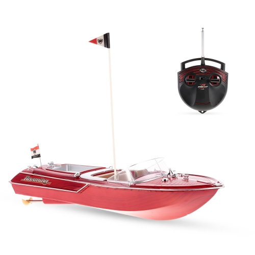Flytec HQ2011-1 27MHz 2CH 15 km / h High Speed ​​Boat Electric RC Ship Toy Children Gift
