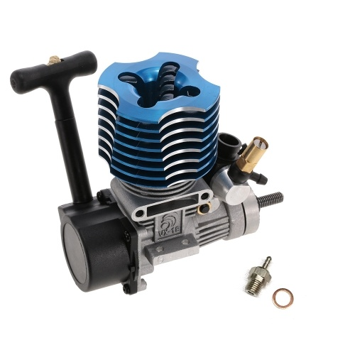 VX 18 Pull Starter Engine with Fire Head for RC 1-10 HSP HPI Redcat Nitro Car Off-Road Buggy Monster