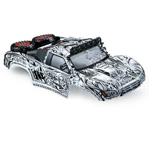 Carrozzeria KillerBody 48062 327mm breve corso finito con scocca telaio per 1/10 Traxxas HPI AE RC Drift Auto da corsa fai da te
