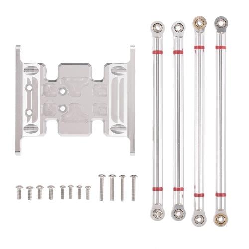 Высокое качество алюминиевого сплава коробки держатель ж / 4PCS 125MM 130MM тянуть стержни