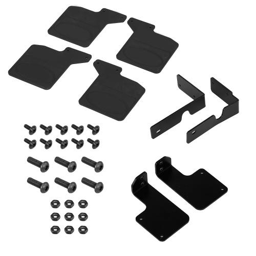 4 Stück vorne und hinten Kotflügel Schmutzfänger Spritzschutz Set