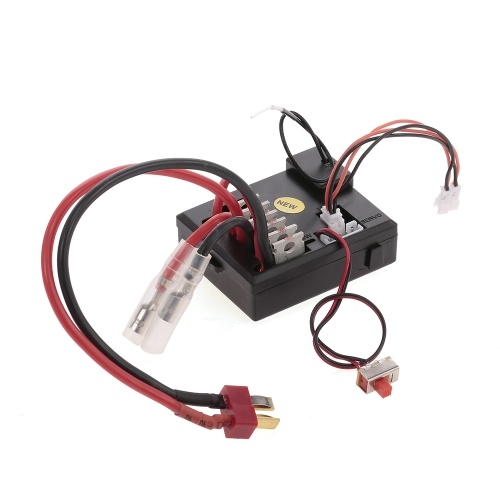Original 3 em 1 Receptor ESC Servo para 1/12 RC Crawler WLtoys 12428 Parte RC Off-road Buggy Car