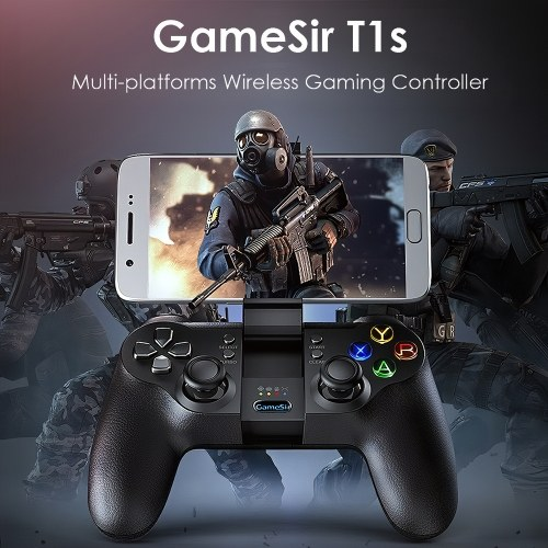 GameSir T1s Gaming Controller 2,4 G Wireless Gamepad für DJI Tello Drone Android iOS Smartphone Tablet PC Windows Steam TV Box PS3