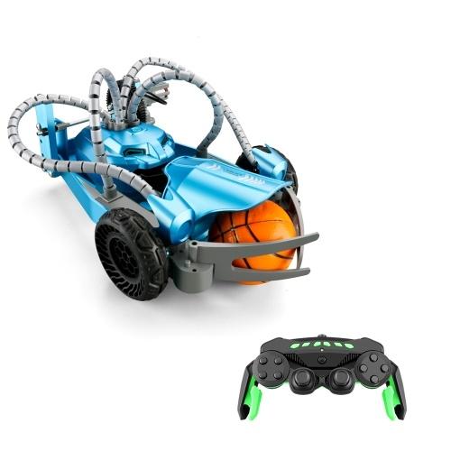 K5 2.4Ghz RC Robotic Car Aluminum Alloy Remote Control Robot with Wheels DIY Building Toy Image