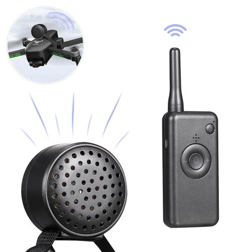 Drone Megafono RC Altoparlante wireless Ricarica USB Telecomando Trasmissione ad alto volume aereo