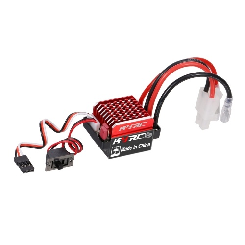 Regolatore di velocità elettrico spazzolato 60A ESC 6V / 2A BEC per 1/10 Traxxas TRX-4 Trx-6 D90 HSP Redcat RC 4WD Tamiya Axial SCX10 HPI DIY RC Car