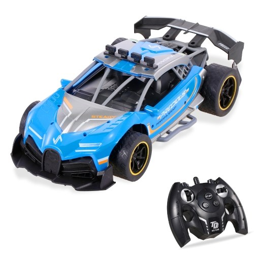 1/12 2.4Ghz Drift Spray Racing Car High Speed 18km/h 4CH Remote Control Stunt Vehicle Image