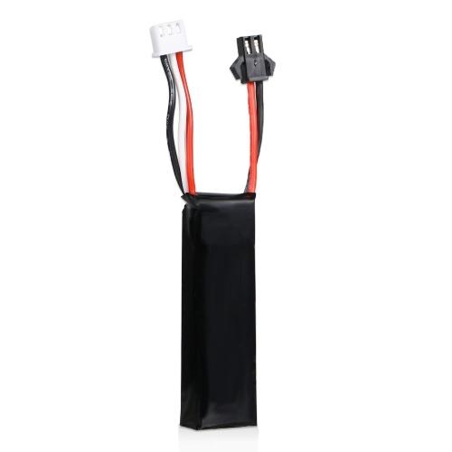 BosLi-Po 7.4V 1400mAh Lipo Battery 25C SM Plug Remplacement