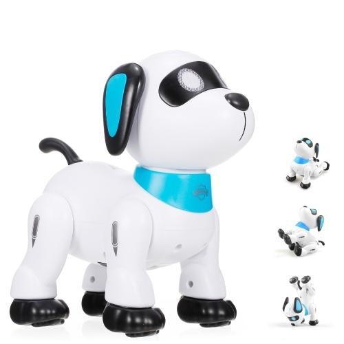 LE NENG K21 Электронный робот-собака-каскадер Пульт дистанционного управления робот-игрушка для собак