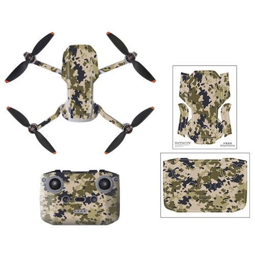 Compatible avec DJI Mavic Mini 2 RC Drone autocollants décoration autocollant étanche contrôleur de peau autocollant