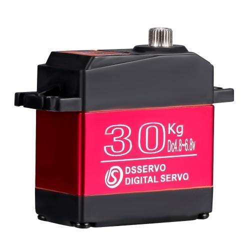 Servo DS3230 30KG Digital Servo IP66 Servo sterzo impermeabile in acciaio inossidabile 270 gradi di funzionamento con servo braccio 25T