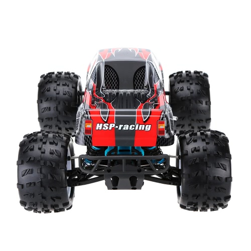 À l'origine HSP 94862 SAVAGERY 1/8 4WD Nitro Powered RTR Monster Truck avec transmetteur 2.4Ghz