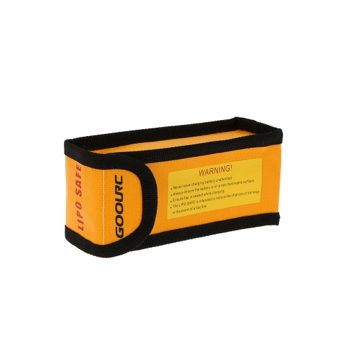 GoolRC 15 * 6.4 * 5cm Golden High Quality Glass Fiber RC LiPo Battery Safety Bag Safe Guard Charge Sack