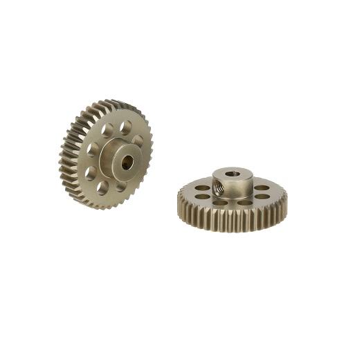 GoolRC 2Pcs 48DP 3.175mm 41T Pinion Motor Gear for RC Car Brushed Brushless Motor