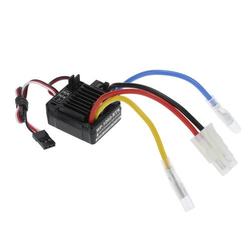 GoolRC 540 21T 4 Polacy silniku szczotkowym i WP-1060-RTR 60A Wodoodporny szczotkowana ESC elektroniczny regulator prędkości, 5V / 2A BEC do 1/10 RC Car