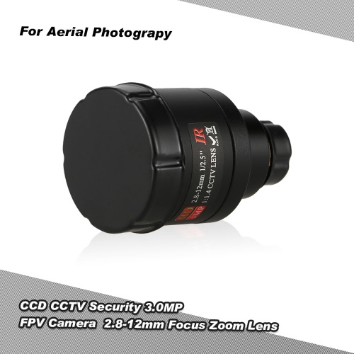 CCD 3.0MP CCTV Security Camera FPV OSD D-WDR 2.8-12mm obiettivo Zoom Fuoco per FPV fotografia aerea