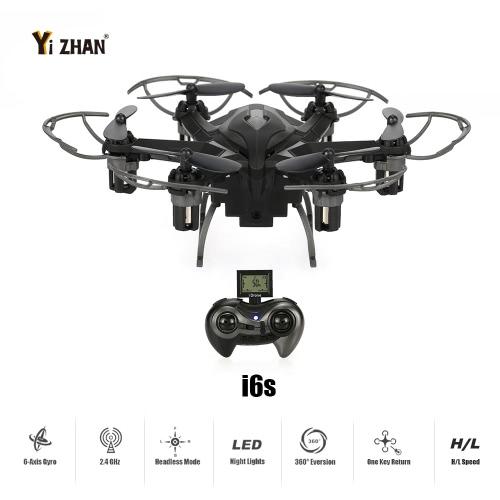 オリジナルYizhan iDroneは、3DフリップCFモードワンキーリターン機能付き2.4G 4CH 6軸ジャイロ2MPカメラRTF RC Hexacopterをi6s