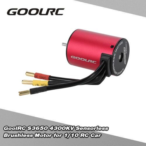 1/10 RCカー用GoolRC S3650 4300KVセンサレスブラシレスモーター