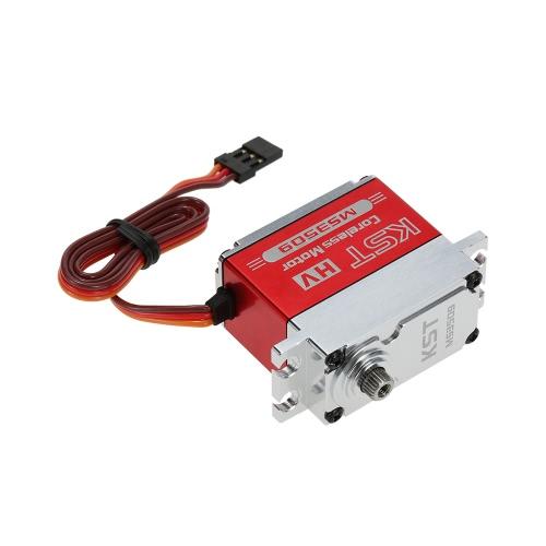 Original KST MS3509 HV alumínio caso Alloy Contactless Position Sensor Aço Engrenagem Servo Digital para a RC Models & Robot