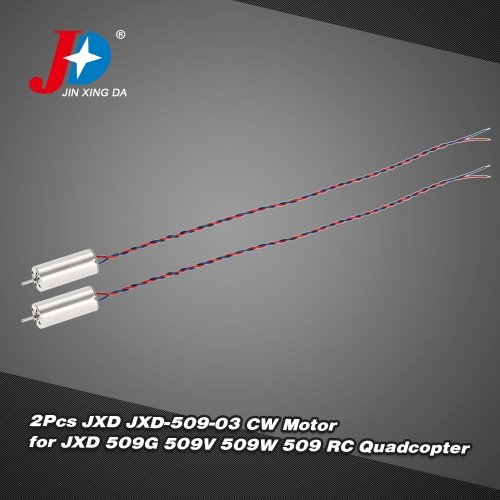 2Pcs Original JXD JXD-509-03 CW Motor for JXD 509G 509V 509W 509 RC Quadcopter