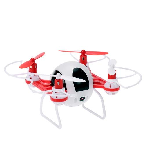 Оригинальная видеокамера GTeng T902C 720P HD RC Quadcopter с уникальным корпусом с круглым корпусом и безголовым режимом RTF