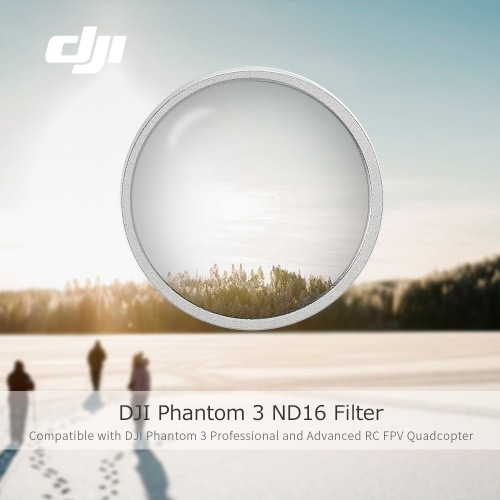 Originale DJI Phantom 3 ricambio del filtro Parte No.56 ND16 per DJI Phantom 3 (Pro / Adv) RC Quadcopter