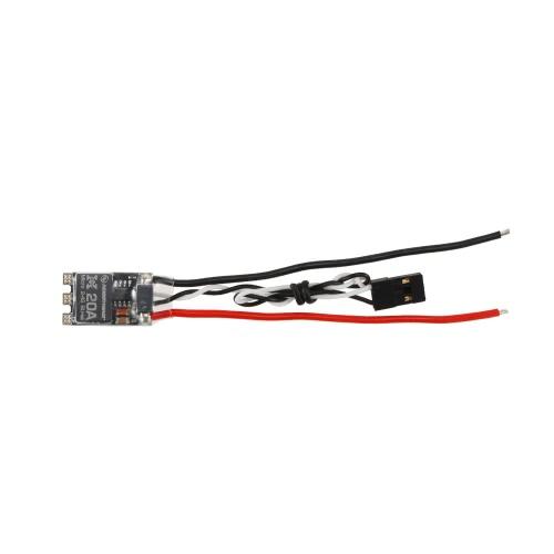 QAV210 250 280 RCマルチロータードローンクワッドローターのためのオリジナルHobbywing XRotorマイクロBLHeli 20A 2-4S ESCブラシレススピードコントローラー