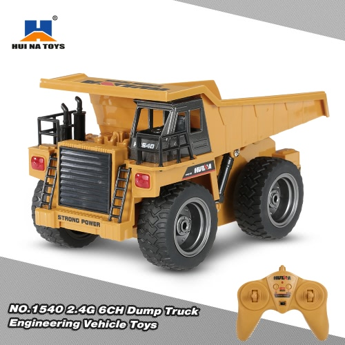HUI NA TOYS NO.1540 Truck Construction Engineering Vehicle Toy