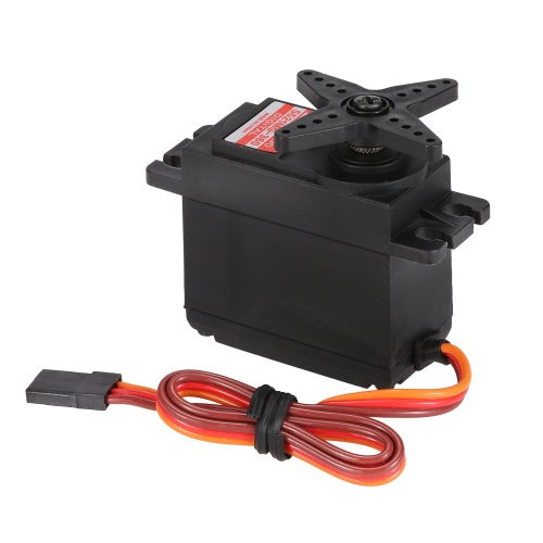 JX PDI-5521MG-360° 21KG Metal Gear Digital Standard Servo for RC Robot Car Boat Drone Helicopter