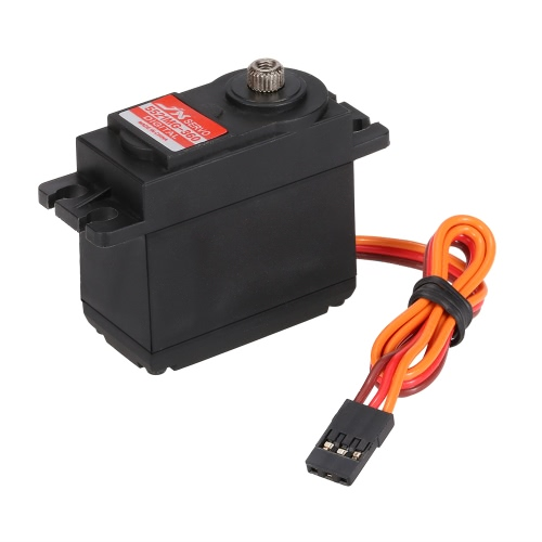 JX PDI-5521MG-360 ° 21KG Metal Gear Digital Servo Estándar para RC Robot Car Autos Drone Helicopter