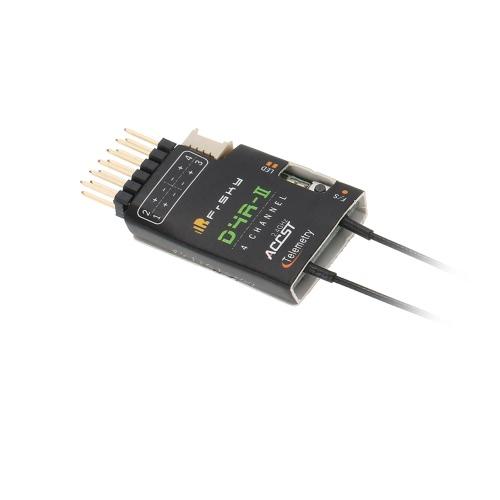 Ricevitore di telemetria FrSky D4R-II 2.4G 4CH con porta dati di uscita CPPM per FrSky Taranis X9D Plus