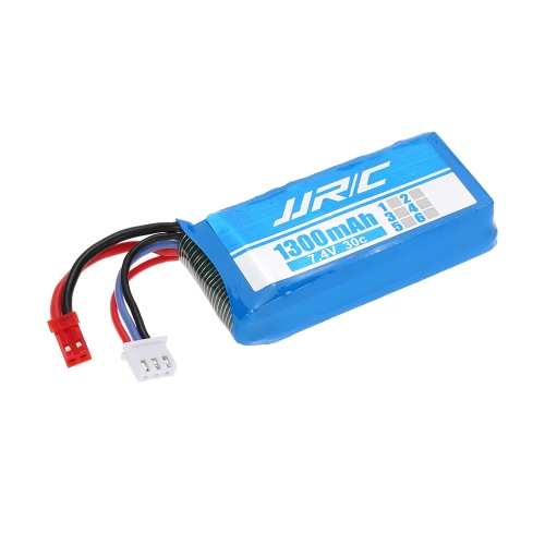 Original JJR/C X1-011 7.4V 1300mAh 30C 2S Li-Po Battery with JST Plug for JJR/C X1 and X1G Quadcopter Spare Part