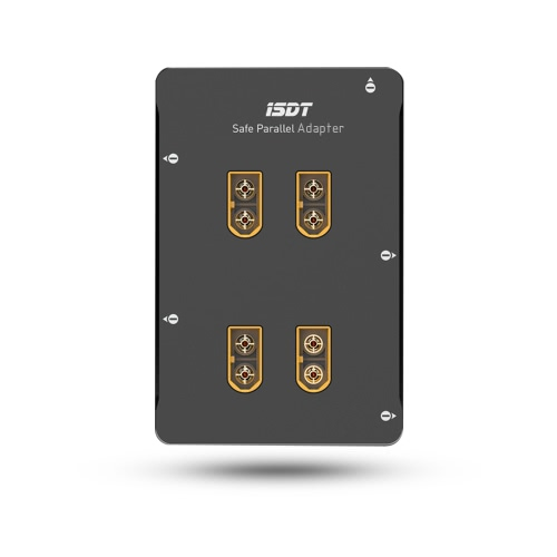 ISDT PC-4860S 1-8S Adaptateur parallèle sécurisé Balance Carte avec fiche XT60 pour RC Drone Quadcopter Car Boat