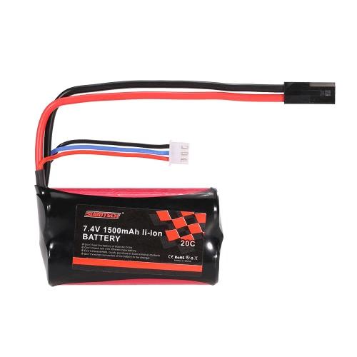 Batteria originale SUBOTECH 7.4V 1500mAh 20C Li-ion