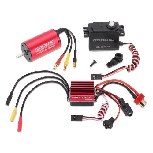 GoolRC S2845 3900KV Motore brushless 35A ESC 3.5kg Combo Set Servo