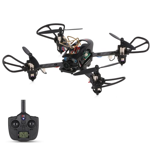 Original XK X130-T 5.8G FPV 3D / 6G Mode Racing Drone mit HD Kamera 2.4G 4CH Carbon Fiber Frame RTF Mini RC Quadcopter