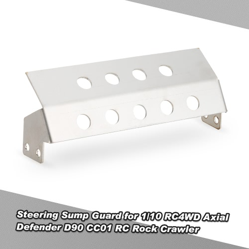 Steering Sump Guard for 1/10 RC4WD Axial Defender D90 CC01 RC Rock Crawler