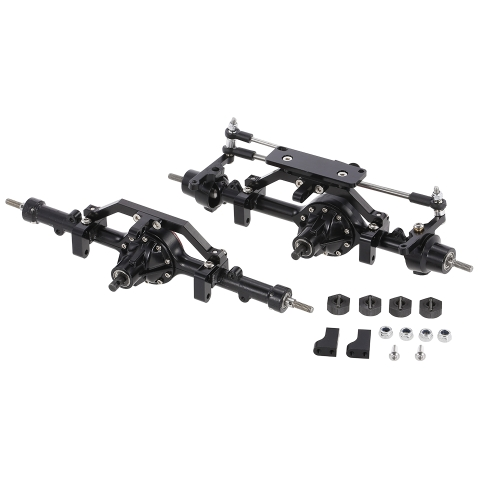 Metal Alloy Front Axle Rear Axle for 1/10 D90 RC4WD Yota II RC Crawler