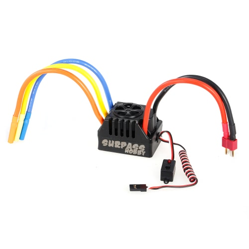 80A Brushless ESC 6V BEC mit Programmierkarte für 1/10 RC Kurzkurs Monster Truck On-Road Auto