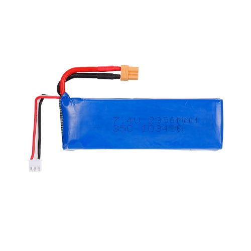 7.4V 2300mAh 35C Li-po Battery with XT30 Plug for MJX Bugs 6 B6 RC Drone Quadcopter