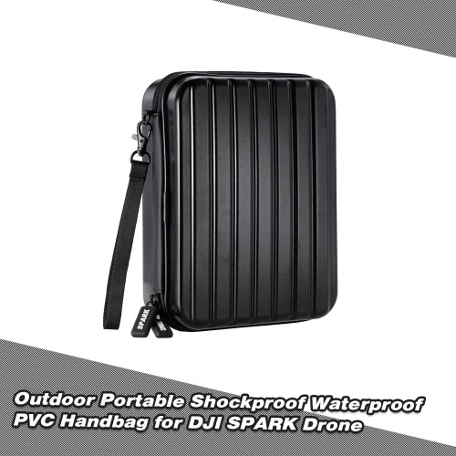 Outdoor Portable Shockproof Waterproof PVC Handbag for DJI SPARK Drone
