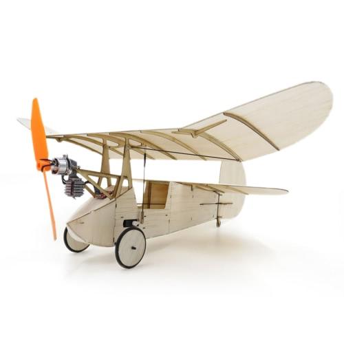Newton Floh Balsa Holz 358mm Spannweite Flugzeug Warbird Flugzeug Modell Licht Holz Flugzeug Kit