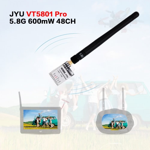 JYU VT5801 Pro 5.8G 48CH 25mW 200mW 600mW Switchable Raceband Image Transmitter for QAV210 250 FPV Racing Quadcopter