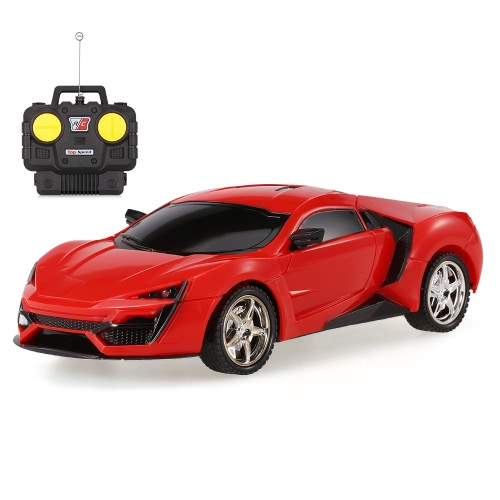 YUFEI TOYS YF666-16 1/20 Sports Car Remote Control Car with Light RC Vehicle Toy Kids Gift